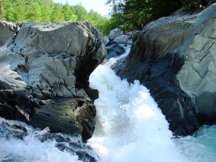 Водопад Кокши. Алтайский заповедник