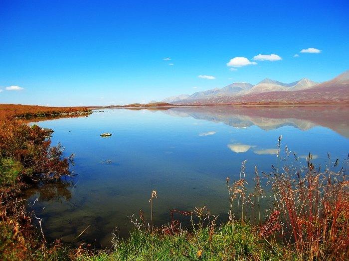 Озеро Джулукуль. Алтайский заповедник