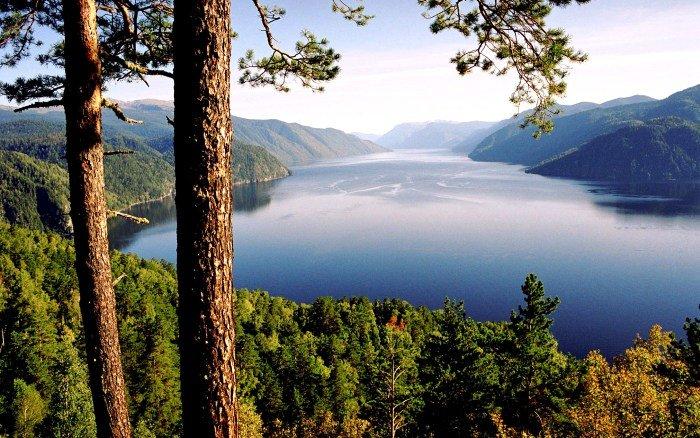 Телецкое озеро. Алтайский заповедник