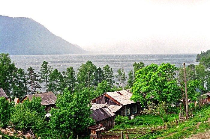 Село Яйлю. Алтайский заповедник