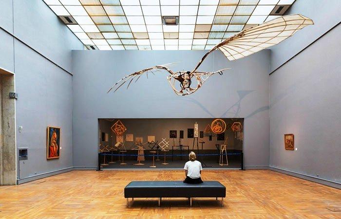 Третьяковская галерея, Москва. Экспозиция XX век