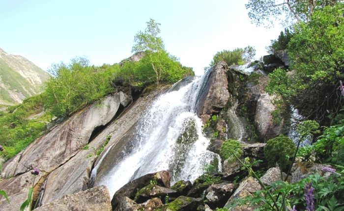 Водопад на реке Шумилихе
