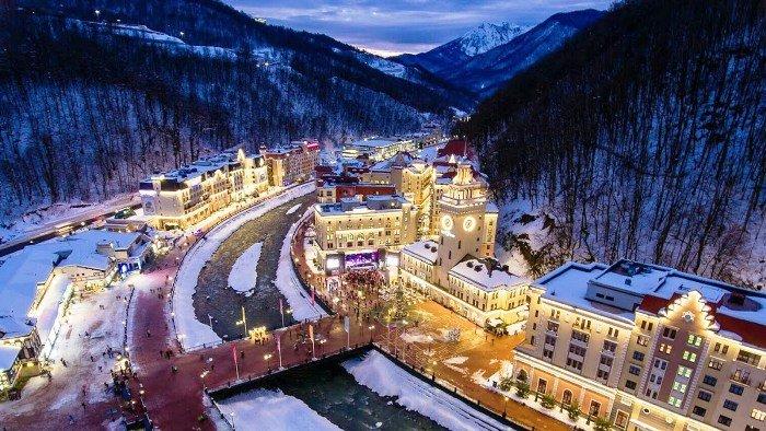 Красная Поляна – столица горного кластера XXII Олимпийских игр