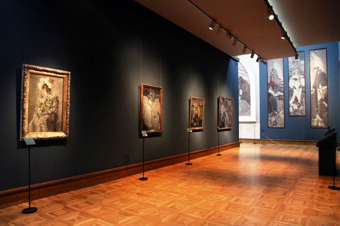 Выставки Третьяковской галереи, Москва