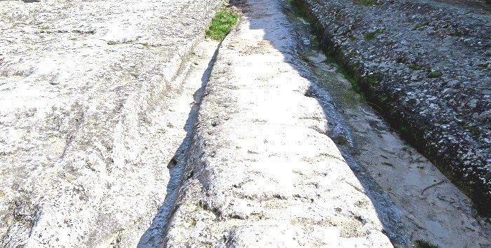 Старая дорога Чуфут-Кале