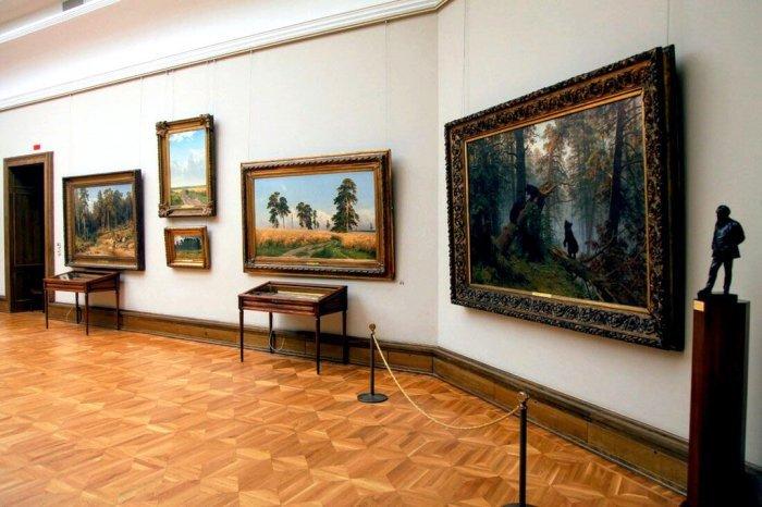 Экспозиции Третьяковской галереи, Москва