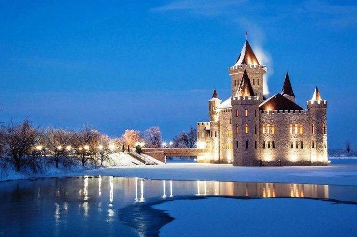 Средневековый замок Шато Эркен.Кабардино-Балкарская республика