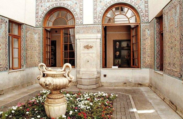 Ливадийский дворец. Арабский дворик
