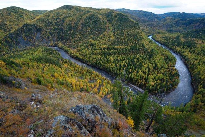 Река Темник. Байкальский заповедник