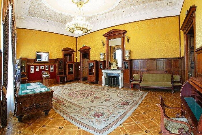 Ливадийский дворец. Приёмный кабинет