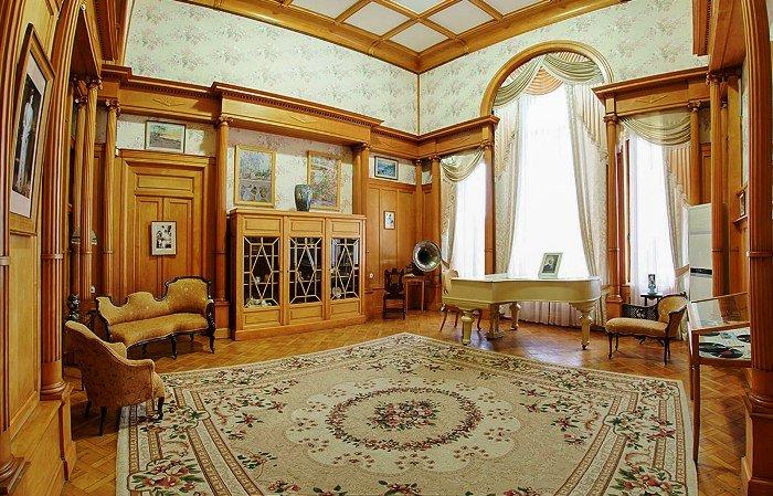 Ливадийский дворец. Гостиная императрицы