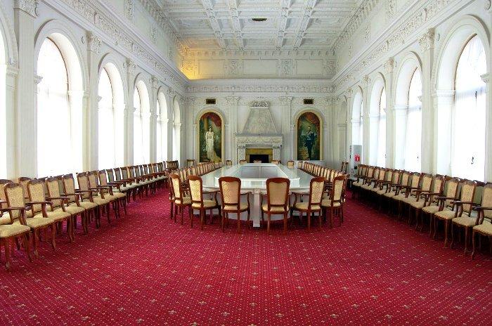 Ливадийский дворец. Парадная столовая
