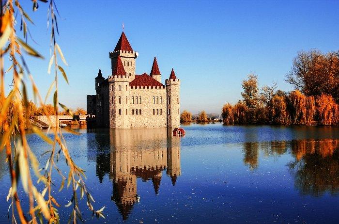 Средневековый замок Шато Эркен. Кабардино-Балкария