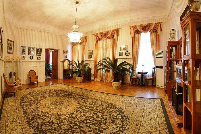 Ливадийский дворец. Кабинет императрицы