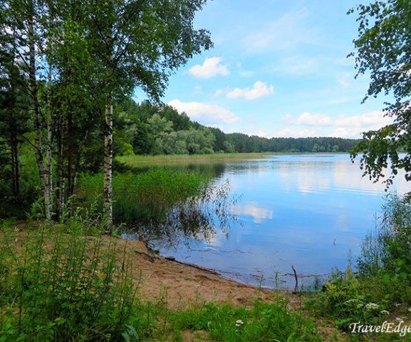 Озеро на острове Кличен, г. Осташков, Тверская область