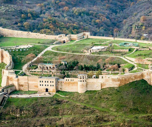 Крепость Нарын-Кала, республика Дагестан