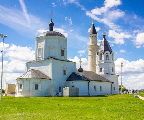 Успенская церковь, Музей-заповедник Болгар, республика Татарстан