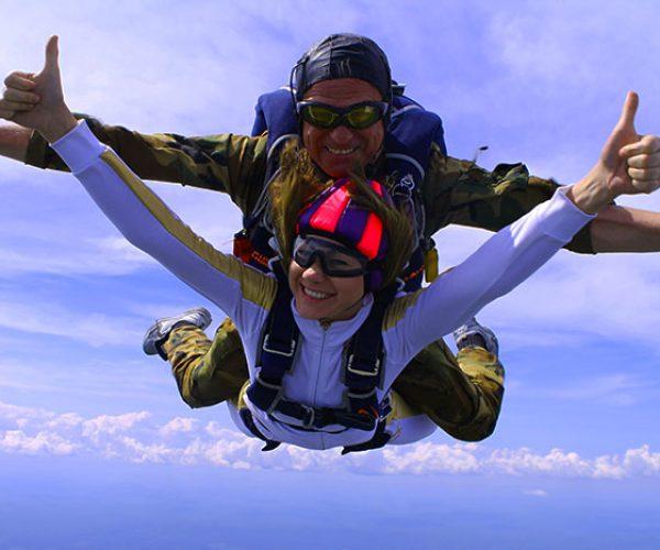 Тандемный прыжок с парашютом