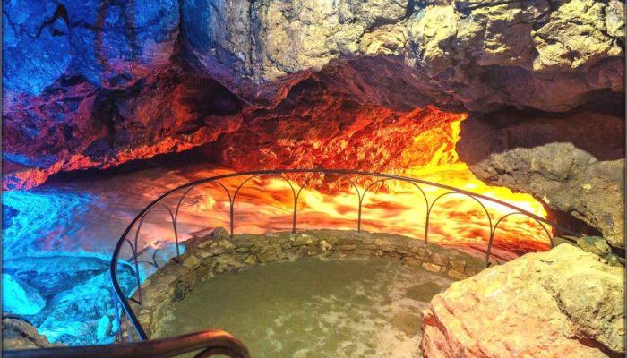 Красные пещеры, Крым