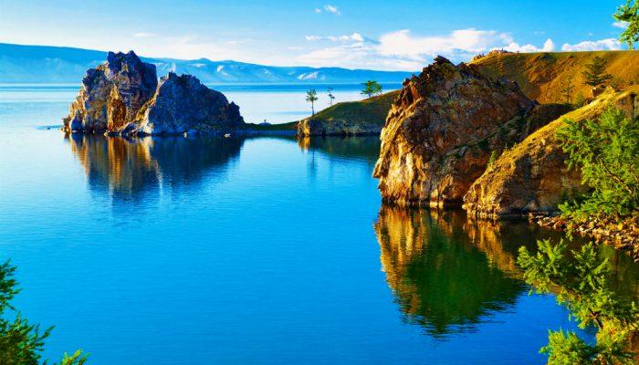 Остров Ольхон на озере Байкал, Россия
