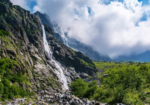 Водопад Зейгалан