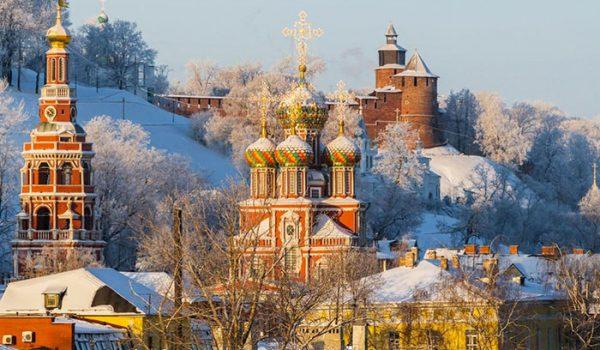 Великий Новгород. Зима