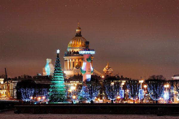 Санкт-Петербург, Новый год